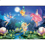 Forest Fairies: Fairies With Dancing Frogs
