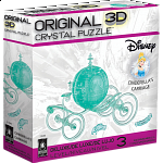 3D Crystal Puzzle Deluxe - Cinderella's Carriage