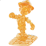 3D Crystal Puzzle - Pinocchio