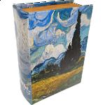 Wheatfield with Cypresses Book - Safe Box