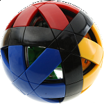 12-Axis Puzzle Ball V1 - 4 color with black edge