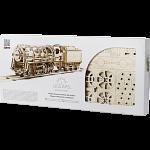 Mechanical Model - Steam Locomotive with Tender