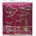 Hanayama Wire Puzzle Set - Purple