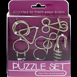 Hanayama Wire Puzzle Set - Purple