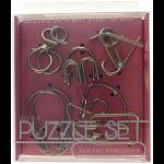 Hanayama Wire Puzzle Set - Pink