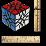 Curvy Mosaic Cube - Black Body