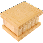 Romanian Puzzle Box - Small Tan
