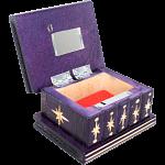 Romanian Puzzle Box - Small Purple