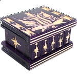 Romanian Puzzle Box - Small Purple