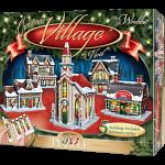 Christmas Village - Wrebbit 3D Jigsaw Puzzle