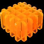 L(8)tice-2  (Orange)