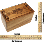 Secret Lock Box - Premium with Mandala Artwork