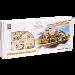 Mechanical Model - V-Express Steam Train with Tender