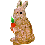 3D Crystal Puzzle - Rabbit