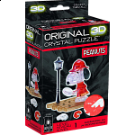 3D Crystal Puzzle - Detective Snoopy