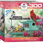 Bertie's Bird Seed Fly-In - Large Piece Family Puzzle