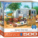 Honey For Sale - Large Piece Jigsaw Puzzle
