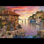 Dominic Davison: Mediterranean Harbor
