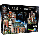 Game of Thrones: The Red Keep - Wrebbit 3D Jigsaw Puzzle