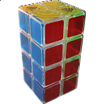 1688Cube 2x2x4 II Cuboid (center-shifted) - Ice Clear Body
