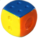 2x2x2 Dice Cube - Stickerless