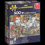Jan van Haasteren Comic Puzzle - Candy Factory