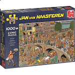 Jan van Haasteren Comic Puzzle - King's Day