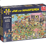 Jan van Haasteren Comic Puzzle - Pop Festival