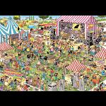Jan van Haasteren Comic Puzzle - Pop Festival