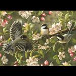 Chickadeedeedees - Large Piece