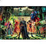 DC Comics: Thomas Kinkade - The Justice League