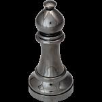 """Black"" Color Chess Piece - Bishop"