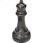 """Black"" Color Chess Piece - Queen"