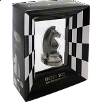 """""""Black"""" Color Chess Piece - Knight"""