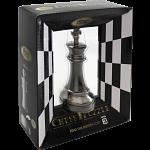 """""""Black"""" Color Chess Puzzle Set - 6 Pieces"""