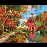 Autumn Barn