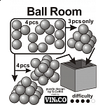Ball Room (Striped Box)