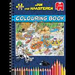 Jan Van Haasteren Colouring Book - Volume 1