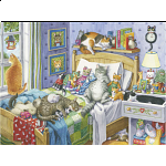 Cat Nap - Large Piece Format