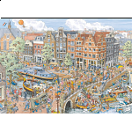 Cities of the World: Amsterdam - Prinsengracht / Brouwersgracht