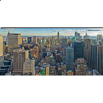 Panorama: View Over New York