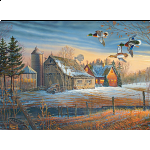 Farmstead Flyby - Large Piece