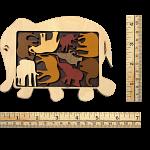 Constantin Puzzles: Elephant Parade