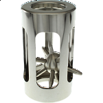 Hedgehog in a cage: Classic Stainless