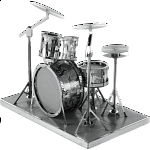 Metal Earth - Drum Set