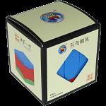BaiNiaoChaoFeng Cube (Blue-Red-Green) - Stickerless
