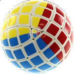 Tony Mini 5x5x5 Ball - White Body (Limited Edition)