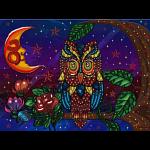 Night Guardian - Large Piece Puzzle