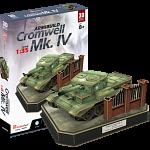 Armibuild Cromwell Mk. IV Tank - 3D Push-Fit Model