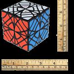 Twins Cube (Skewb Version) - Black Body